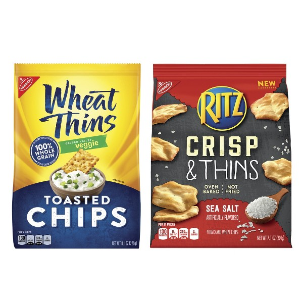 Ritz and Wheat Thins Chips product image
