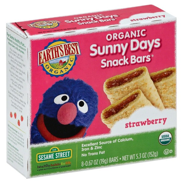 Earth's Best Sunny Days Snack Bars product image