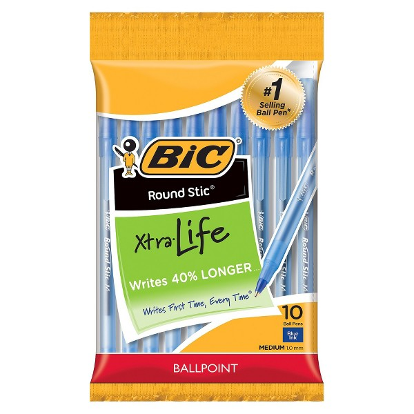BIC Round Stic Xtra Life Ball Pen product image