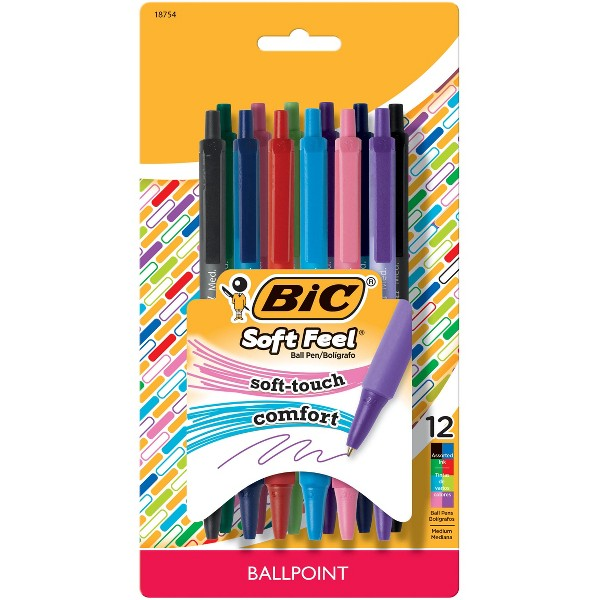 BIC SoftFeel Ball Pen product image