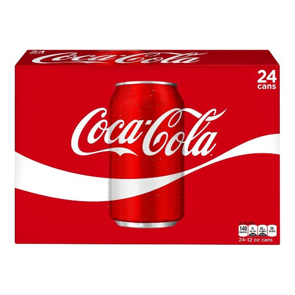 Coca-Cola 24 Pk Cans product image