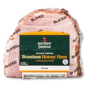 Archer Farms Sliced Boneless Ham