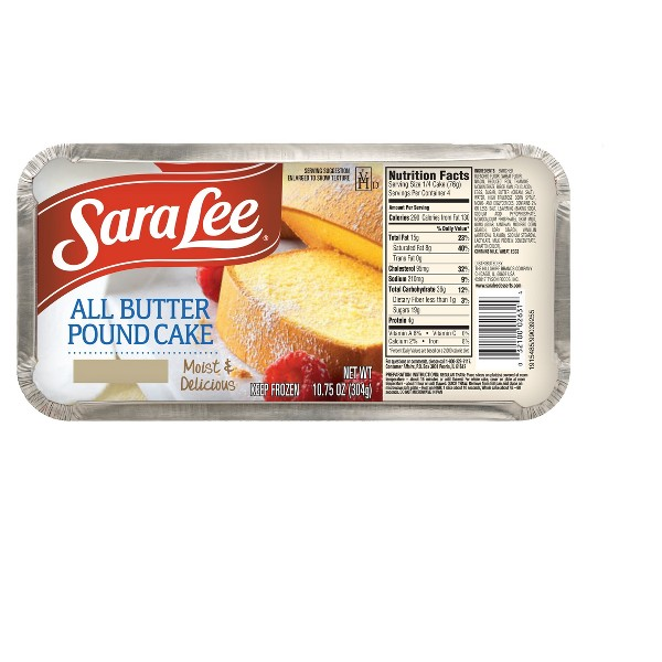Sara Lee Frozen Pound Cake product image