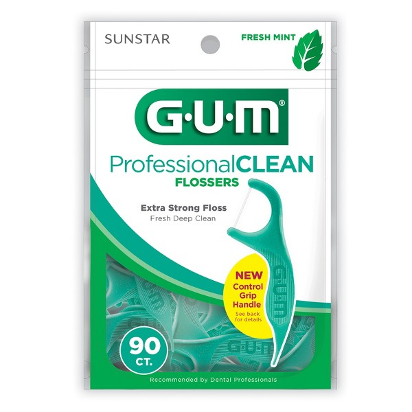 GUM Professional Clean Flossers product image
