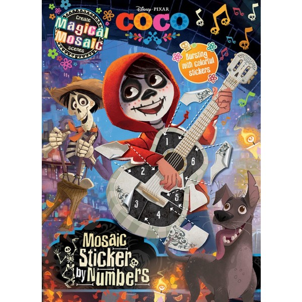Coco: Mosaic Sticker Book product image