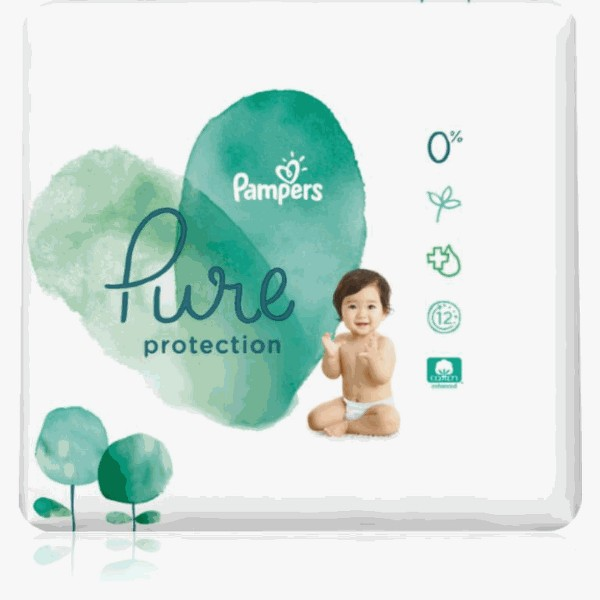 Pampers Pure Diapers product image
