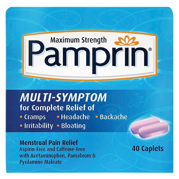 Pamprin Menstrual Pain Relief product image