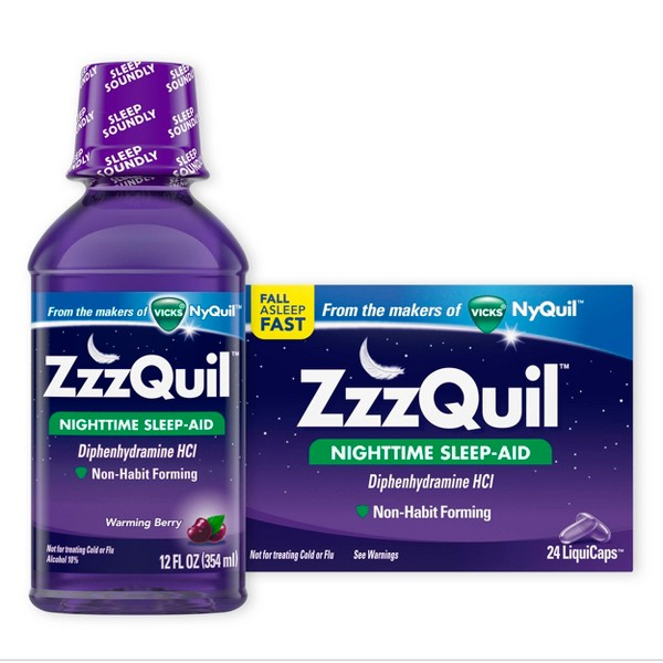ZzzQuil Sleep-Aid product image