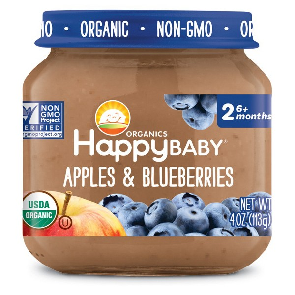 Happy Baby Clearly Crafted Jars product image
