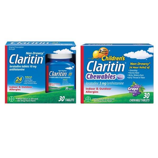Claritin & ClariSpray Allergy product image