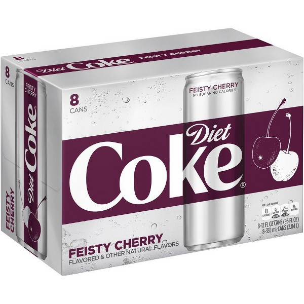 Diet Coke Sleek 8 Pks product image