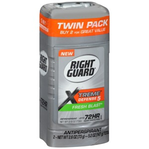 Right Guard & Dry Idea Deodorants
