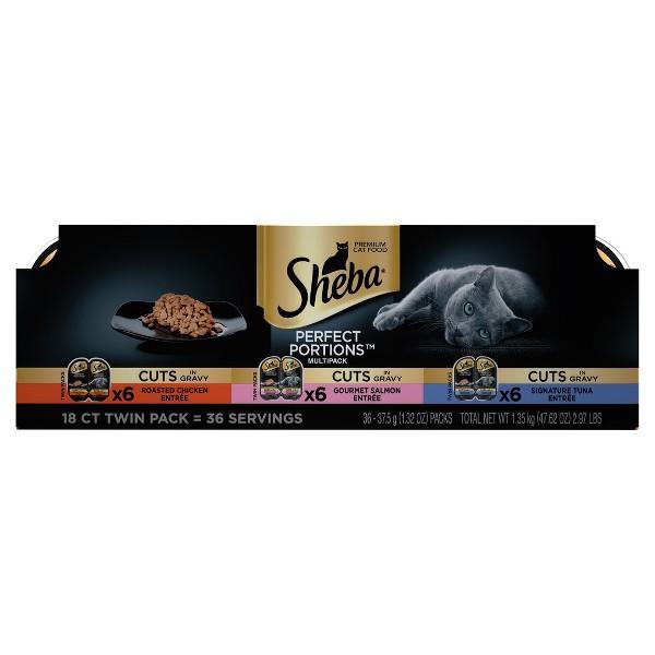 Sheba Wet Cat Food Multipacks product image