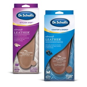 NEW Dr. Scholl's Leather Insoles
