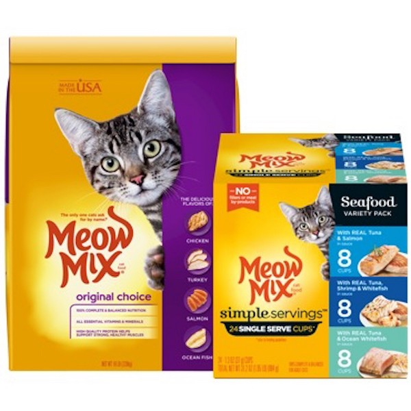 Meow Mix Cat Food product image