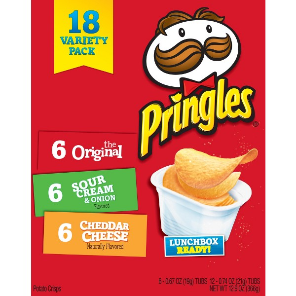Pringles Snack Stacks Variety Pack product image
