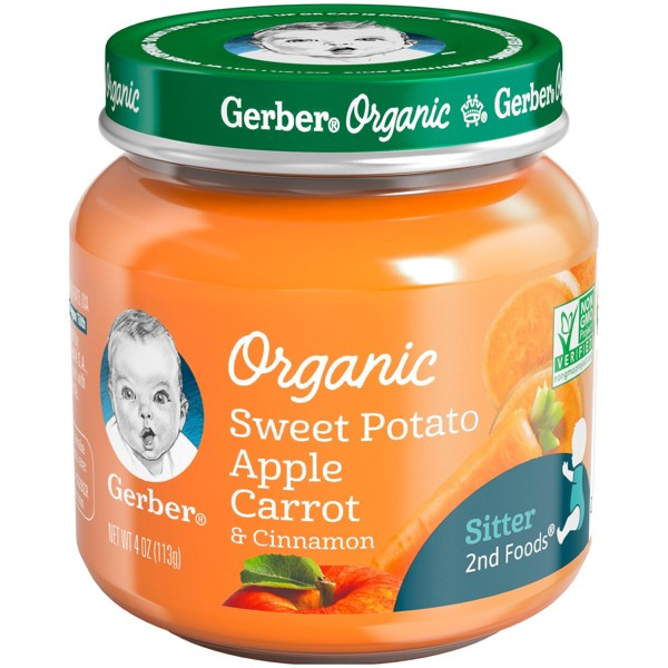 Gerber Organic 1st & 2nd Foods product image