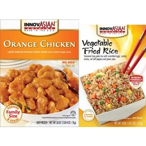 InnovAsian Family Size & Rice Side