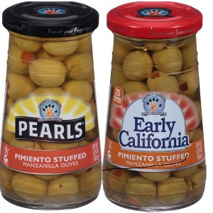 Pearls & Early California Olives