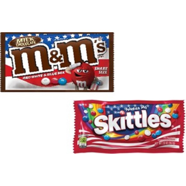 Mars Red, White, & Blue Treats product image