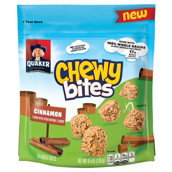 Quaker Chewy Bites Cinnamon product image