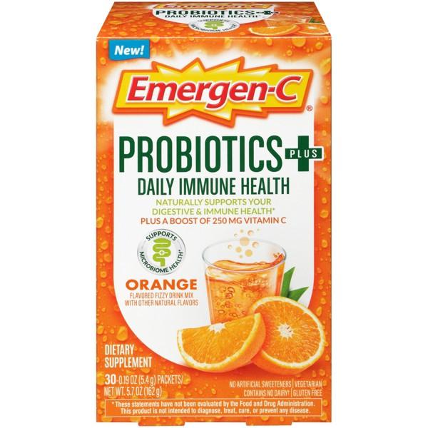 NEW Emergen-C Probiotic Drink Mix product image