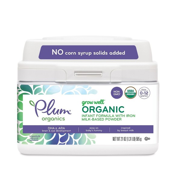 Plum Organics Infant Formula product image