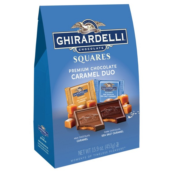Ghirardelli Caramel Duo XL Bag product image