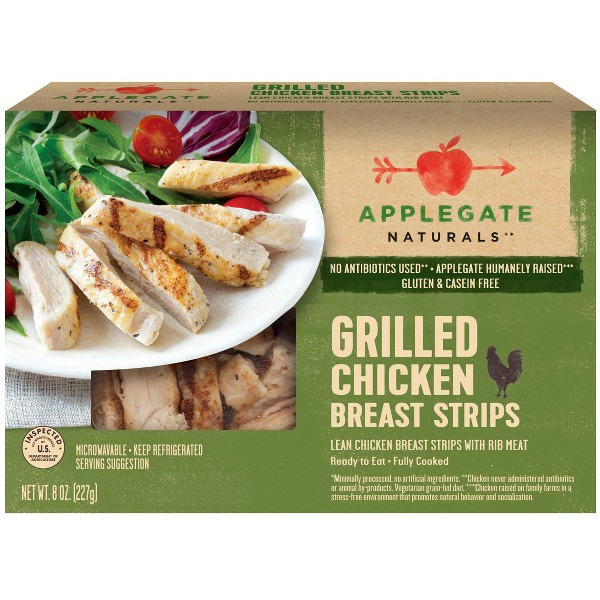 Applegate Grilled Chicken Strips product image