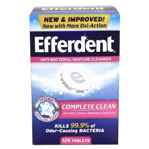 Efferdent Denture Products