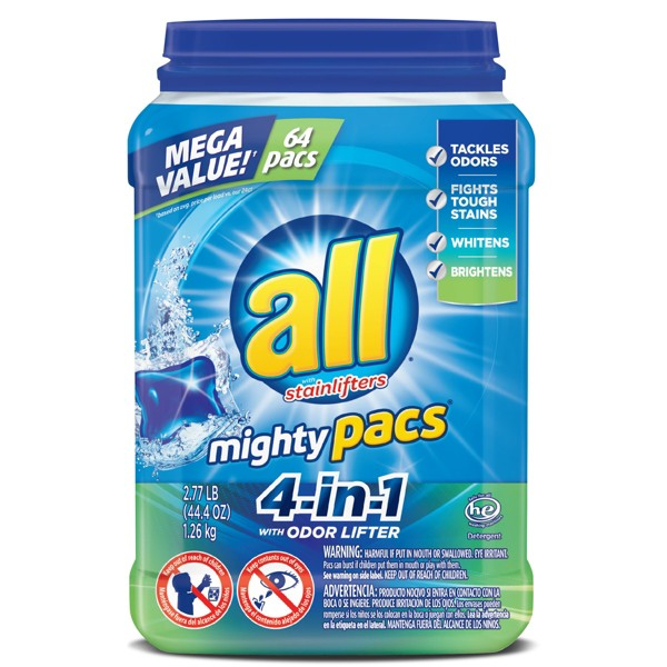 NEW all Mighty Pacs 4-in-1 product image