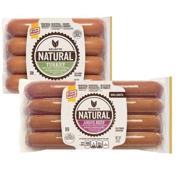 Oscar Mayer Natural Hot Dogs product image