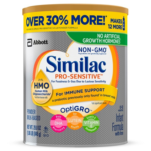 Similac ProSensitive & ProAdvance product image