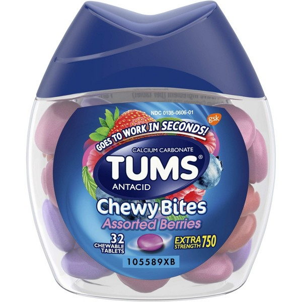 Tums Sugar Free or Chewy Bites product image