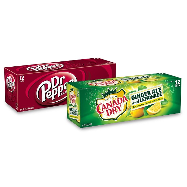 Dr Pepper, 7UP, Canada Dry & More product image