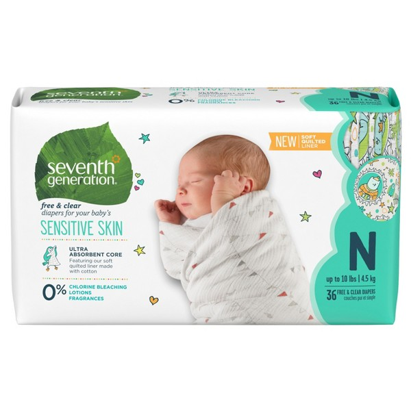 Seventh Generation Baby Diapers product image