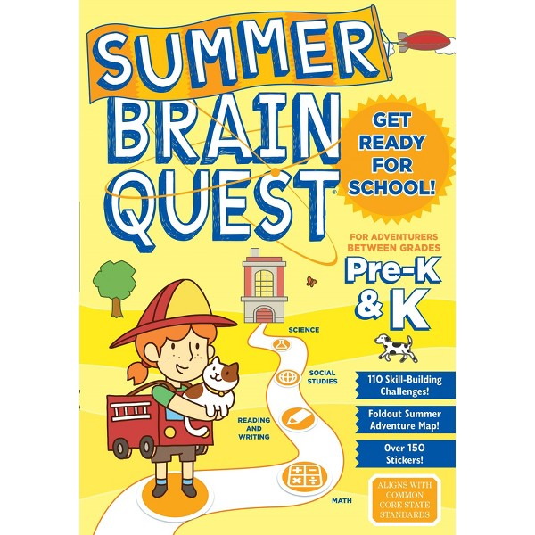 Summer Brain Quest Workbooks product image