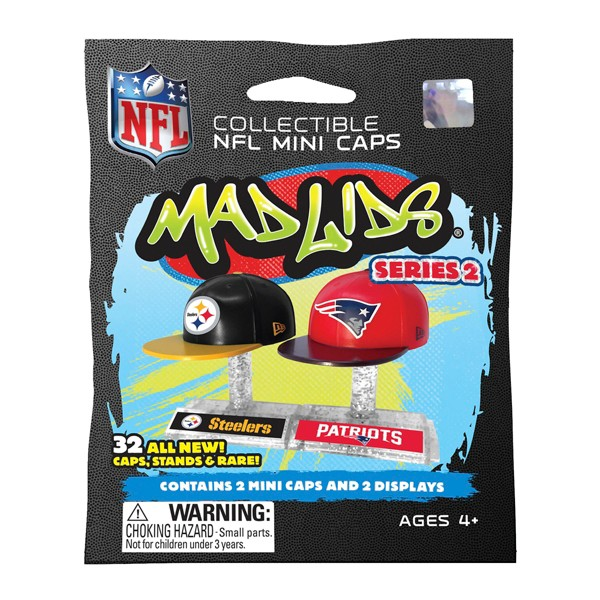 NFL Mad Lids Mini Caps Series 2 product image