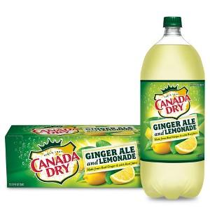 Canada Dry + Lemonade