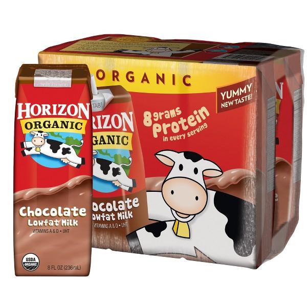 Horizon Single Serve Milk Boxes product image
