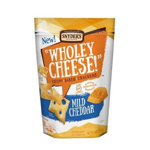 Snyder's Wholey Cheese Crackers