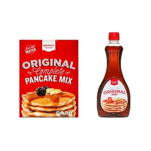 Market Pantry Pancake Mix & Syrup