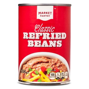 Market Pantry Refried Beans