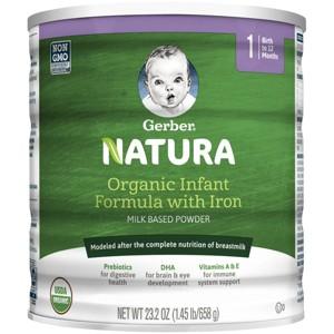 Gerber Natura Organic Formula