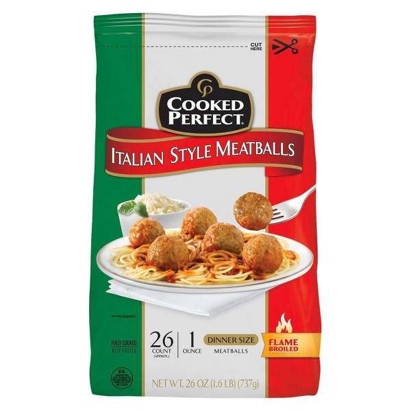 Cooked Perfect Meatballs product image