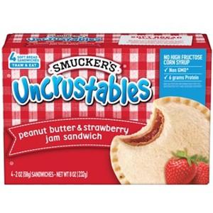 Smucker's Uncrustables Sandwiches