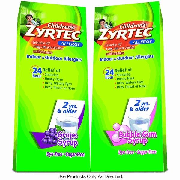 Children's Zyrtec product image