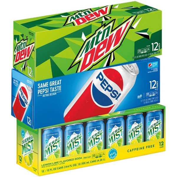 Pepsi Brands 12 Pack Cans product image