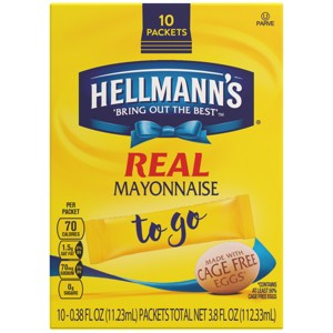 Hellmann's Mayo To Go Packets