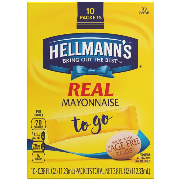 Hellmann's Mayo To Go Packets product image
